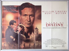 Cinema Poster: A TIME OF DESTINY 1989 (Quad) William Hurt Melissa Leo