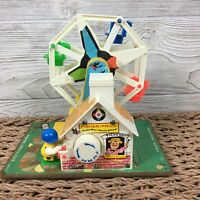 Vintage 1966 Fisher Price Music Box Ferris Wheel #969 Works Collectible Toy