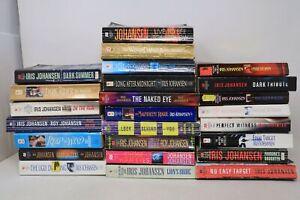 Lot of 25 Books by Iris Johansen - Eve Duncan - Mystery - Suspense -  PB