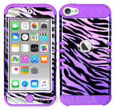 For Apple iPod Touch iTouch 5 | 6 - KoolKase Hybrid Cover Case - Zebra Purple
