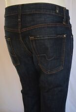 Seven 7 For All Mankind THE STRAIGHT MODERN FIT Jeans Men 32 in RT77 DARK BLUE