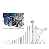 For Ford 351W Small Block Polished Aluminum Alternator Bracket Bolts Kit GW