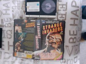 Strange Invaders Pre cert betamax tape