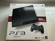 Sony PS3 Slim 160GB Console Boxed Complete HDMI Cable OFFICIAL CONTROLLER