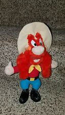 "Vintage 1995 Ace Looney Tunes 11.5"" Yosemite Sam Plush Doll Vhtf Guc"