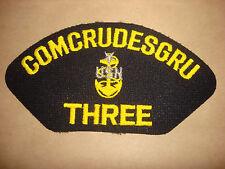 US Navy Machine Embroidered Patch: COMCRUDESGRU THREE Pacific Fleet