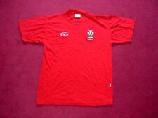 Classic Wales Rugby League Supporters Shirt/top/jersey/adult small