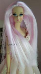Silkstone Francie~Ooak Doll~ Posable Silkstone Barbie Body~2011~Re-Root~NUDE