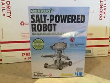 SALT POWERED ROBOT Toy by Green Science Home School Education Kids STEM NEW!