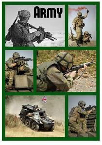 Militaire,(The Armée ) - Souvenir Nouveauté Réfrigérateur Aimant - Petit Cadeaux