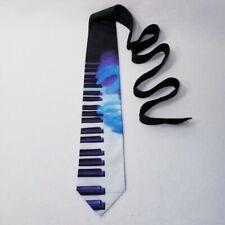 Vintage Ralph Marlin Blue/Black Keyboard Tie