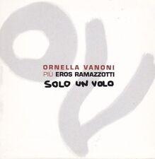 CD ♫ Audio Single Promo ORNELLA VANONI & EROS RAMAZZOTTI SOLO UN VOLO Sleevepack