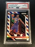 DEANDRE AYTON 2018 PANINI PRIZM RED WHITE BLUE REFRACTOR ROOKIE RC PSA 10