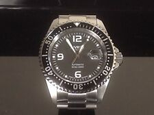 Nivrel Deep Ocean Black Swiss ETA 2824-2 Automatic 500 Meter Dive Watch