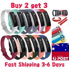 Replacement Band Fitbit Alta HR Silicone Wrist Watch Band Secure Buckle