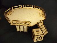 TTCombat - Sci Fi Scenics - Landing Pad & Crate - Great for Infinity
