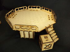 TTCombat - Sci Fi Scenics - Landing Pad & Crate - Great for Infinity