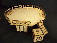 Ttcombat-Sci Fi scenics-landing pad & crate-great for infinity