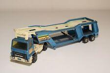 A2 1:43 MATCHBOX SUPERKINGS K-10 BEDFORD CAR CARRIER AUTO TRANSPORTER EXCELLENT