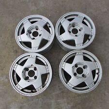 Set 4 cerchi in lega Speedline 5,5Jx13 4x100 ET36 Renault usati (17649 20X-2-C-1