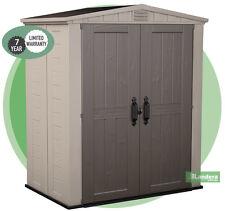 KETER Factor 6 x 3  Garden Shed - Outdoor Storage -  10 Year Warranty
