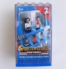 Character Building Football Sports Stars Micro Figures Series 2 Ages 5 and up