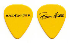 Badfinger Bruce Hastell Signature Yellow Guitar Pick #2 - 1990s Tours