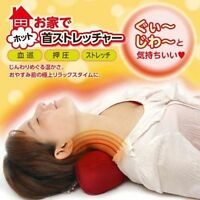 Hot Neck Stretcher Hot water bottle warming massager From Japan