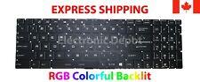 New MSI Keyboard RGB Colorful Backlit US English GE62 GE62VR GE72 GE72VR