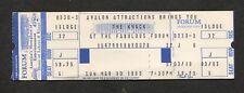 1980 Get The Knack Tour Unused Full Concert Ticket Los Angeles Forum My Sharona