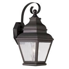 Livex Lighting Exeter Outdoor Wall Lantern in Bronze - 2601-07