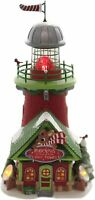 Rudolph's Blinking Beacon Dept 56 North Pole Village 6005433 Christmas house Z