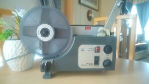 Sankyo Dualux 1000 Dual Gauge 8mm/Super 8 Film Projector in Working Order