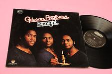 GIBSON BROTHERS LP BY NIGHT ORIG ITALIAN 1977 NM !!!!!!!!!!!!!!!!! GATEFOLD