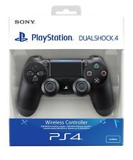 OFFICIAL (BLACK) SONY PS4 PLAYSTATION 4 DUALSHOCK 4 WIRELESS CONTROLLER V2