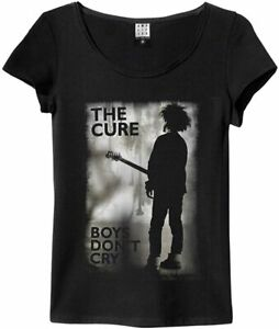 Amplified The Cure - Boys Don't Cry - Women's Black T-Shirt