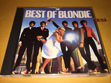BEST of BLONDIE hits CD heart of glass DREAMING tide is high IN THE FLESH atomic