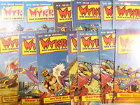 Auswahl: MYKROS  Comic Heft  Nr. 1 -  21   ( Bastei Verlag 1982   )