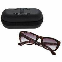 New Authentic JUST CAVALLI JC491S/S 55B Tortoise Shell Sunglasses & Case RRP£112