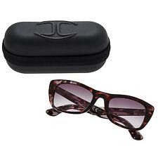 New JUST CAVALLI JC491S/S 55B Tortoise Shell Sunglasses & Case 50% OFF RRP£112
