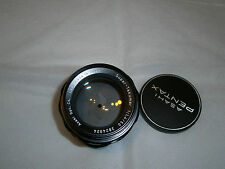 Super - Takumar 50mm F1.4.... yellow UV treated.....in Pentax M42 Screw Mount..