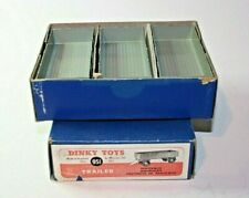 Dinky 951 Large Trailer x 3, Superb Condition in Excellent Tradebox, 1954-1956