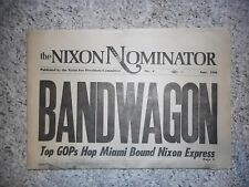 The Nixon Nominator #4- June 1968 (Published by the Nixon for President Committe