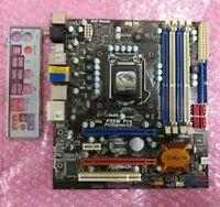 Asrock P55M PRO LGA1156 P55 2x PCIE x16 + IO Shield, Max 32Gb (4x8Gb) RAM.