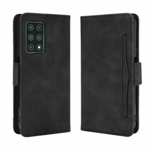 For Cubot X30 Retro Magnetic Flip PU Leather Wallet Matt Shockproof Case Cover