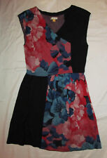 LEIFSDOTTIR knit half day jacquard floral needlepoint print sleeveless dress XS
