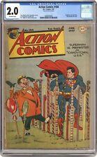 Action Comics #104 CGC 2.0 1947 2068503002