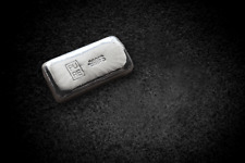 1oz  Bullion Bar - Hand Poured  (999 Fine Silver)