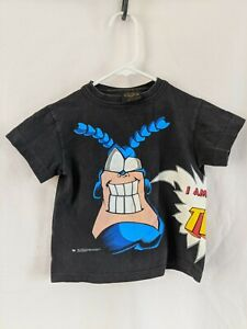 Vintage 90s The Tick Cartoon Kids Size 5-6 Boys T Shirt