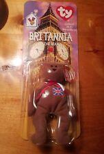 Ty Beanie Baby McDonalds Britannia the Bear Nip 1993 Error 1999 Mint New